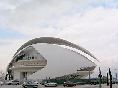 オペラハウス「パラウ・デ・レス・アーツ」